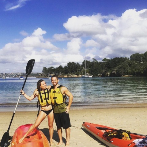 Private Kayak Yoga Class for Two