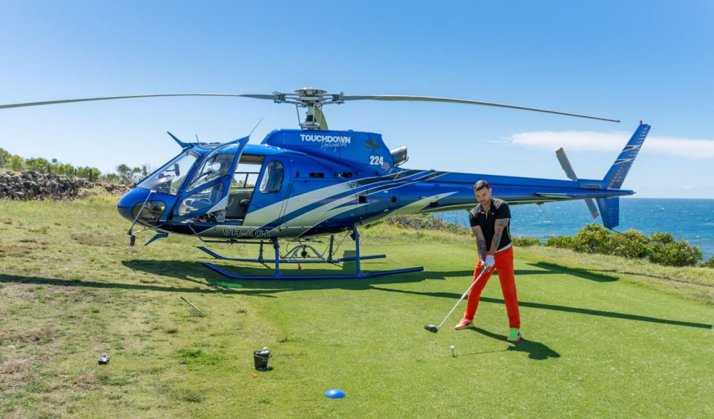 Golf and Helicopter BananaLab