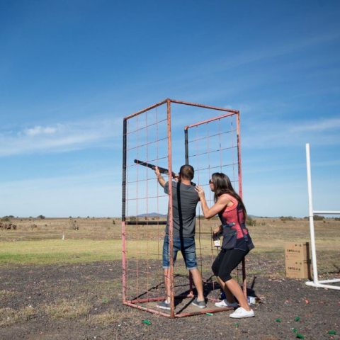 Go Clay Target Shooting for Two