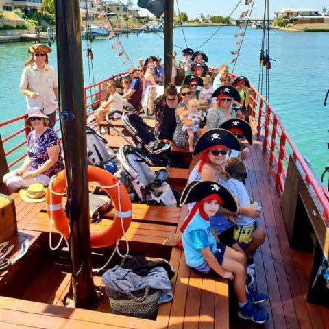 Pirate Cruise Family Pass: Two Adults & Two Kids