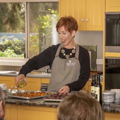 Interactive Cooking Demonstration for Two