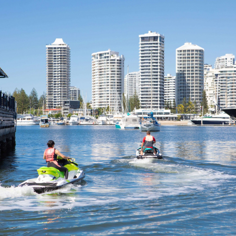 30 Minute Jet Ski Safari with Photo and GoPro Package