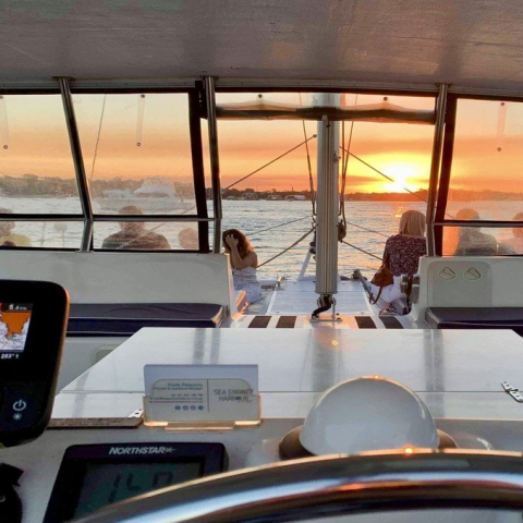 Sunset & Sparkle Harbour Cruise for Two