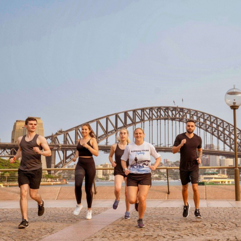 Sydney Harbour Sights Running Tour for Two People