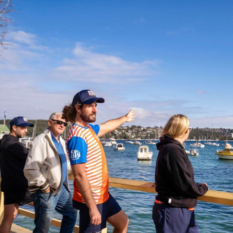Sydney Manly Trail Running Tour for Four People
