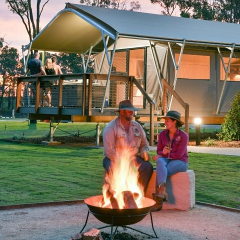 Two Night Deluxe Glamping at Splitters